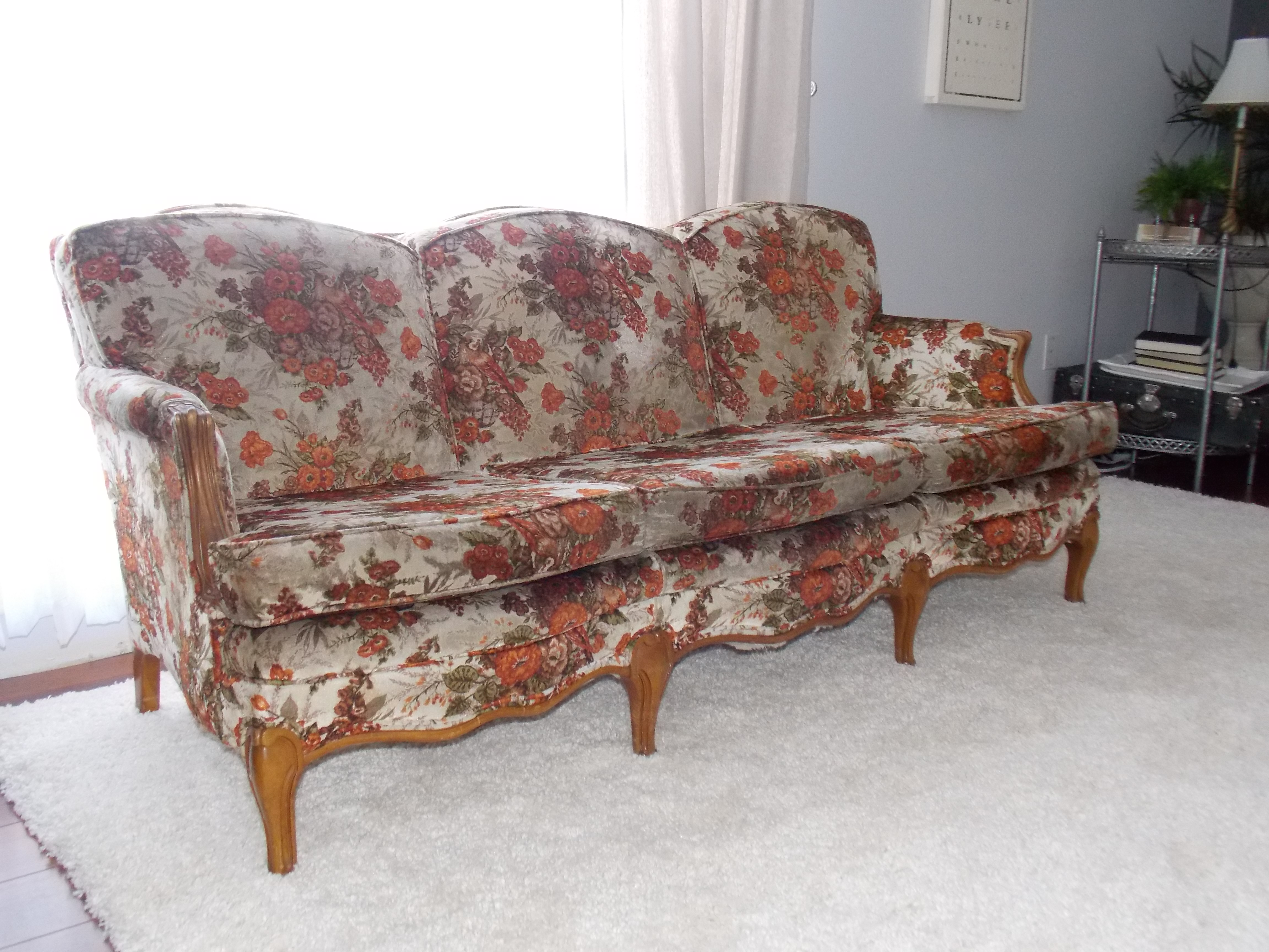 French Sofa deconstructed…