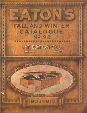 Eaton's catalogue cover