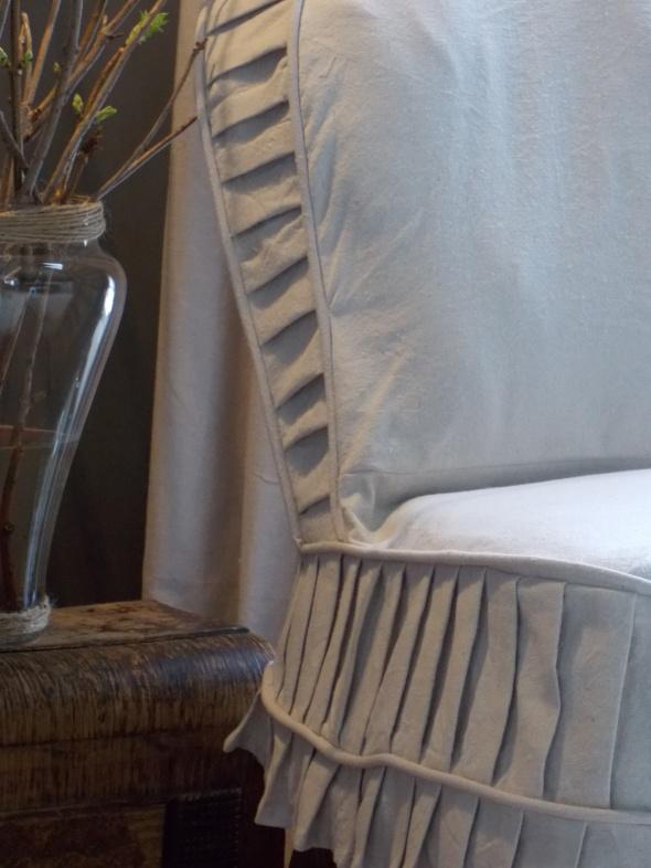 Slpi covered antique chair,desk redo, spring buds 174