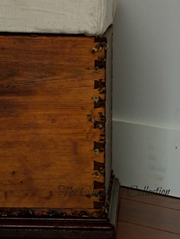 Settee, mid century modern buffet, blanket box 067