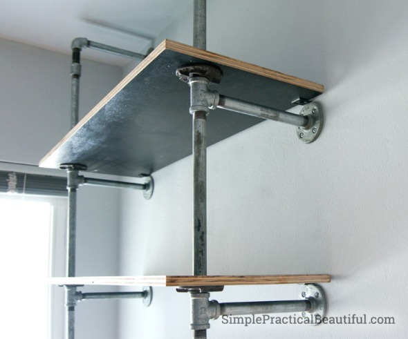 pipe shelving