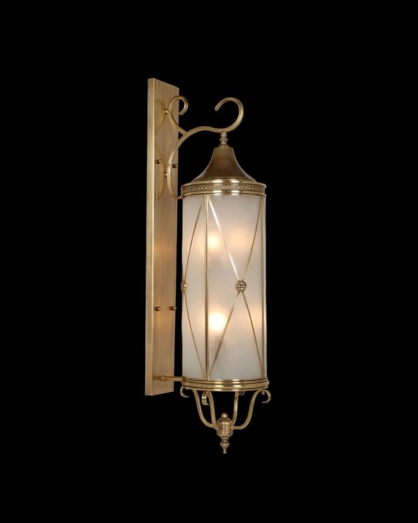 cylindrical wallsconce