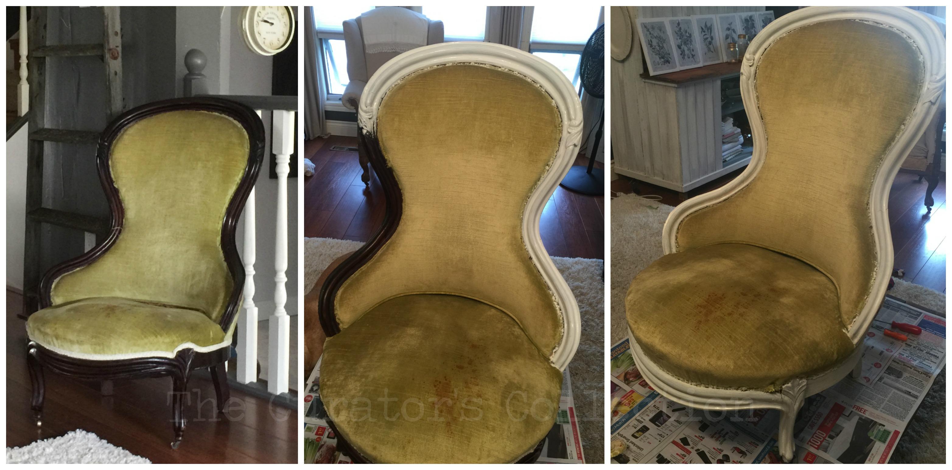 Velvet Parlour Chair 1